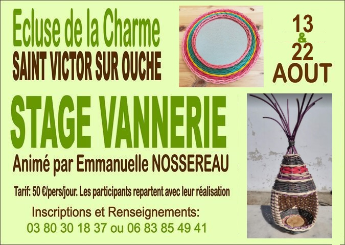 affiche stage ecluse aout 2019